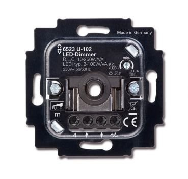 C-Light GmbH Busch Jäger 6523 U-102 LED Dimmer - 100 W 49556699
