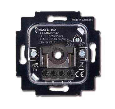 Busch Jäger 6523 U-102 LED Dimmer - 100 W