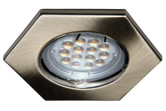 3 W High Lumen LED 6-Eck Spot 12 V