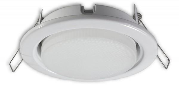 230 V Einbaustrahler JT-GX53 weiss - 5 W LED (WW)