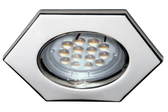 12 V - 5 W High Lumen LED 6-Eck Spot