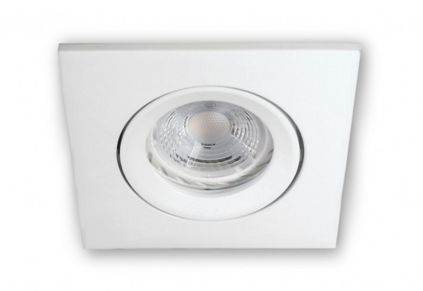 3 W LED (PA) warmweiss 230 V - GU10 Strahler 906 weiss