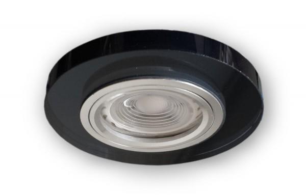 12 V - MR16 Glas Einbaustrahler S1370BK