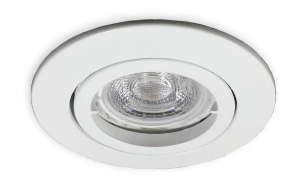 230 V LED GU10 Spot weiss für 68 mm Lochbohrung - 3 W (PA-WW)