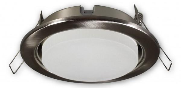 230 V Einbaustrahler JT-GX53 alu gebürstet - 5 W LED (WW)